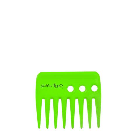 Gettin Fluo Pettine Rado Corto Verde