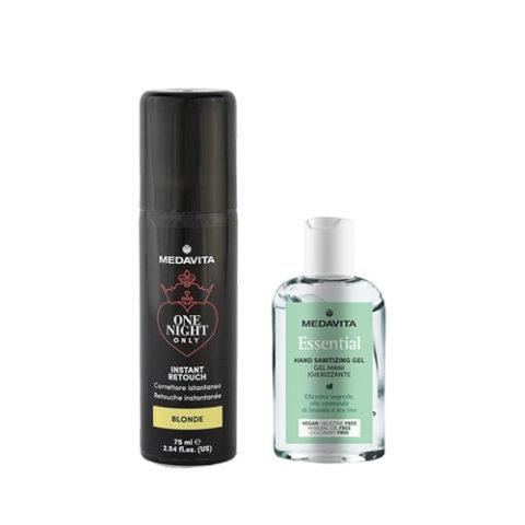 Medavita Instant Retouch Blonde 75ml - Gel mani igienizzante 100 ml