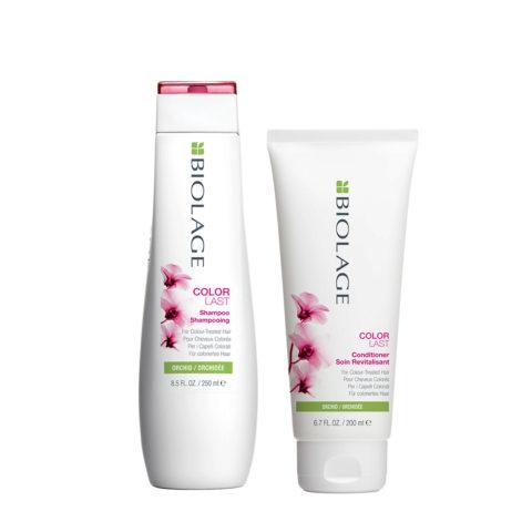 Biolage Colorlast Shampoo 250ml Conditioner 200ml - shampoo e balsamo capelli colorati