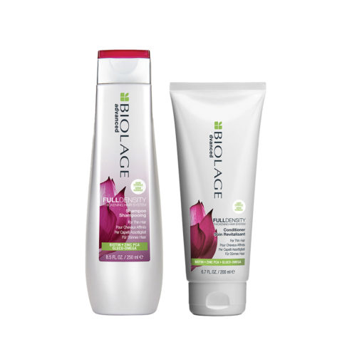 Biolage advanced FullDensity Shampoo 250ml e Conditioner 200ml - shampoo e balsamo capelli fini
