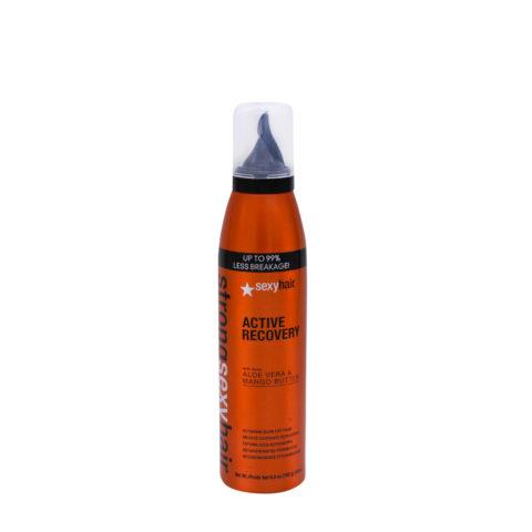 Strong Sexy Hair Active Recovery Schiuma Riparazione Capelli Danneggiati 205ml