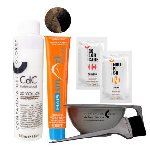 Hair Smart Color Kit Completo colore fai da te 5 Castano chiaro