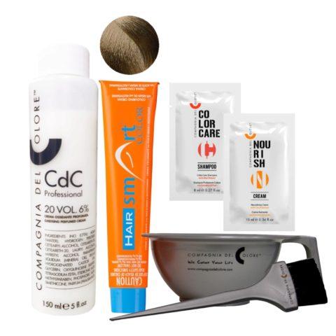 Hair Smart Color Kit Completo colore fai da te 6 Biondo Scuro