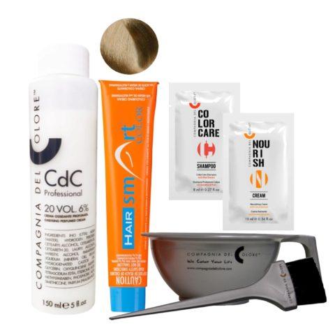 Hair Smart Color Kit Completo colore fai da te 7 Biondo
