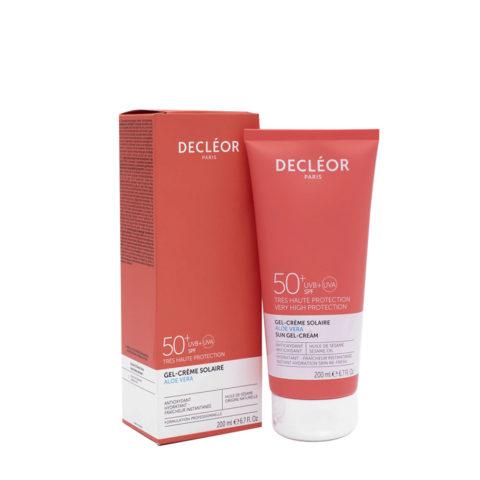 Decléor Gel crème Solaire SPF50+, 200ml - crema protezione solare corpo