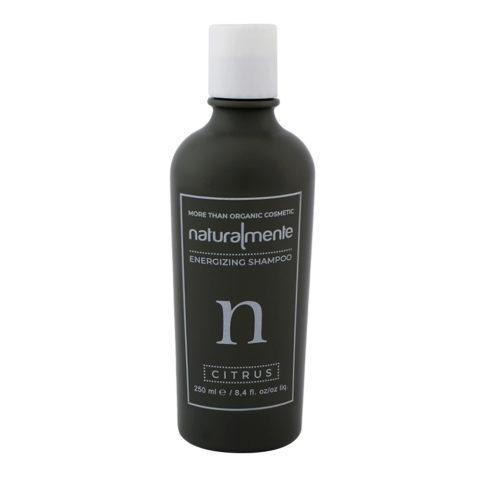 Naturalmente Energizing Shampoo Citrus 250ml - Shampoo Energizzante Cedro