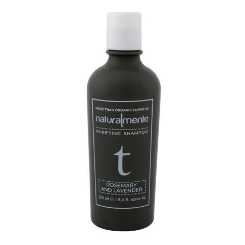 Naturalmente Purifying Shampoo Rosemary & Lavender 250ml - Shampoo Purificante