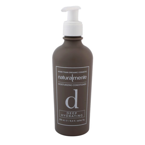 Naturalmente Moisturizing Conditioner Deep Hydrating 250ml - Balsamo Idratante capelli secchi