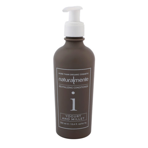 Naturalmente Revitalizing Conditioner Yogurt and Millet 250ml - balsamo per tutti i capelli