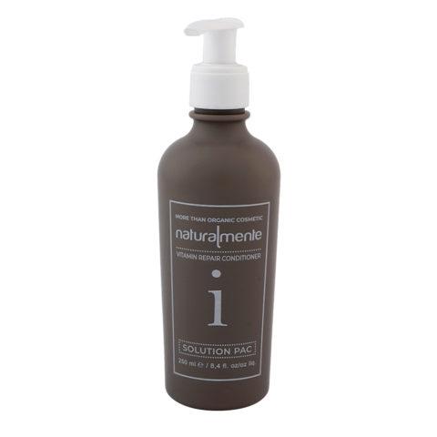 Naturalmente Vitamin Repair Conditioner Solution Pac 250ml - balsamo di ricostruzione capelli danneggiati