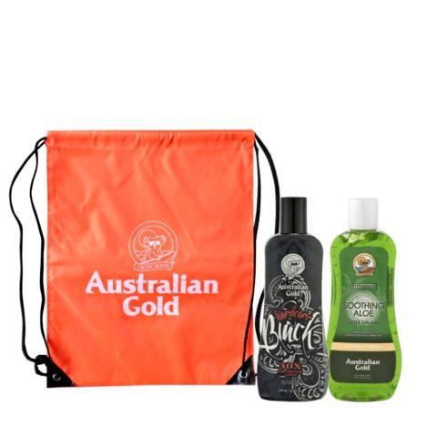 Australian Gold Kit Intensificatore e Doposole Aloe con Zaino Mare Omaggio