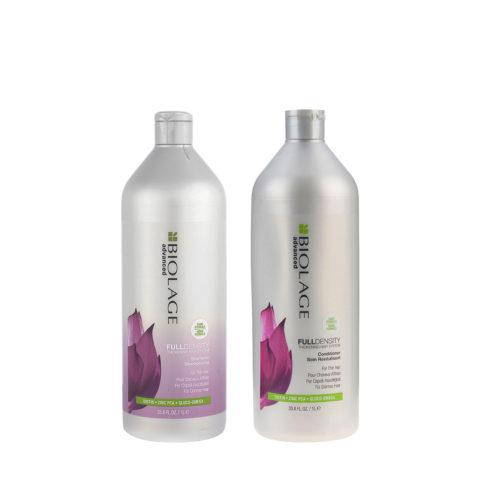 Biolage advanced FullDensity Shampoo 1000ml e Conditioner 1000ml - shampoo e balsamo capelli fini