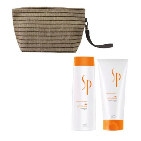 Wella SP After sun shampoo 250ml Balsamo 200ml Pochette Omaggio