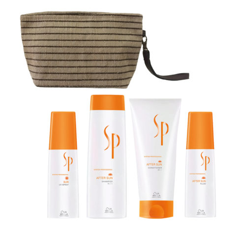Wella SP After sun shampoo 250ml Balsamo 200ml Siero doposole 125ml Spray 125ml Omaggio