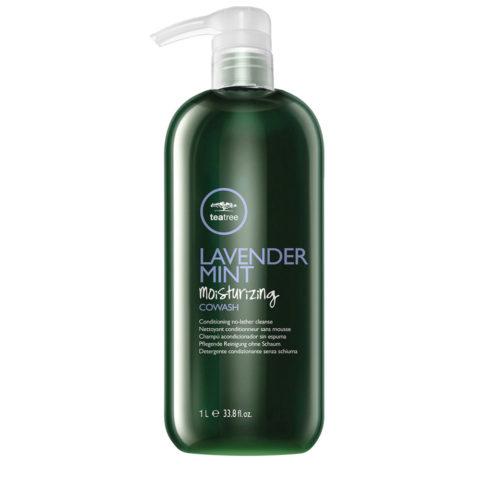 Paul Mitchell Lavender Mint Moisturizing CoWash 1000ml - idratante leggero capelli ricci