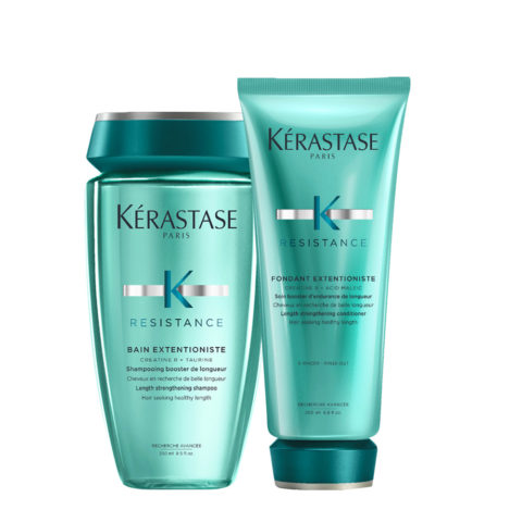 Kerastase Extentioniste Shampoo 250ml Balsamo 200ml Rinforzanti capelli lunghi