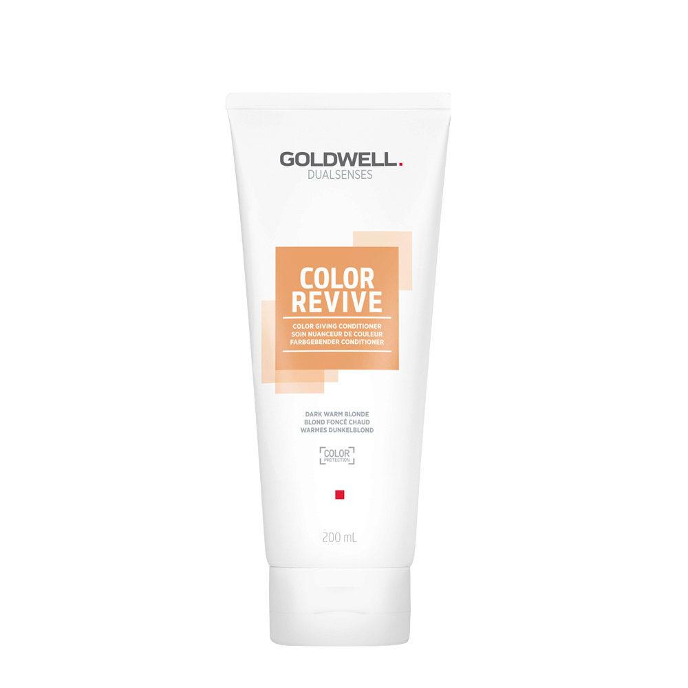 Goldwell Dualsenses Color Revive Balsamo colorato Dark Warm Blonde 200ml - biondo scuro caldo