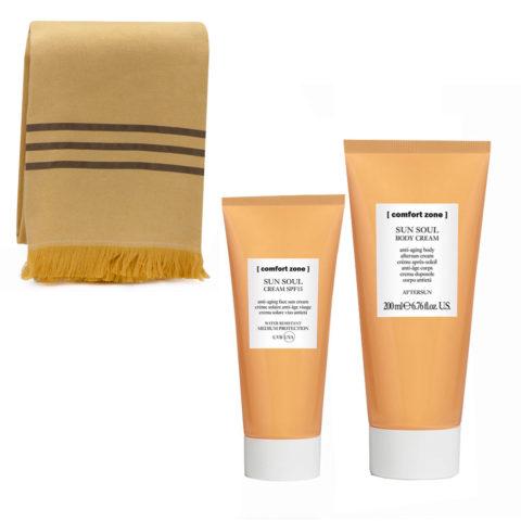 Comfort Zone Sun Soul Crema Protezione SPF 15, 60ml e Crema Corpo doposole 200ml