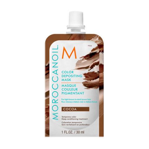 Moroccanoil Color Deposit Mask Cocoa 30ml - Maschera colorata Cacao