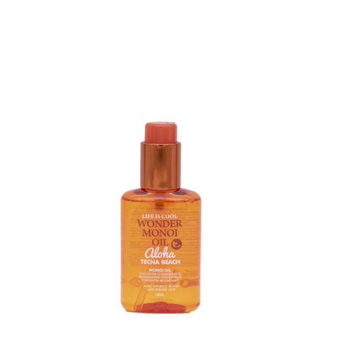 Tecna Wonder Monoi Oil oil 100ml - Olio Idratante rigenerante per capelli secchi