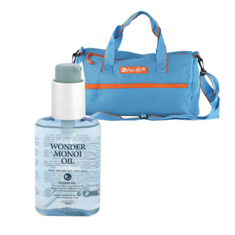 Tecna Wonder Monoi Oil oil 100ml - olio rigenerante con borsa omaggio