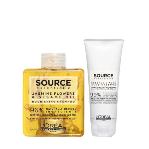 L'Oréal Source Essentielle Kit Shampoo Idratante 300ml e Balsamo 200ml