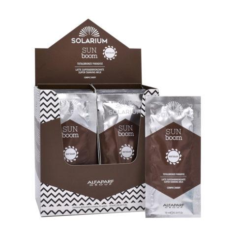 Solarium Totalbronze Paradise Latte Superabbronzante  20 bustine da 10ml - Intensificatore Corpo