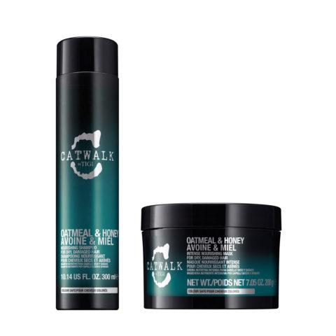 Tigi Catwalk Kit Shampoo 300ml Maschera 200gr per capelli secchi