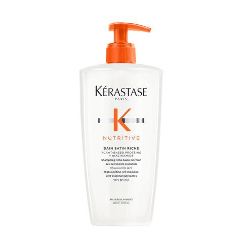 Kerastase Nutritive Satin 2 Shampoo per capelli secchi 500ml