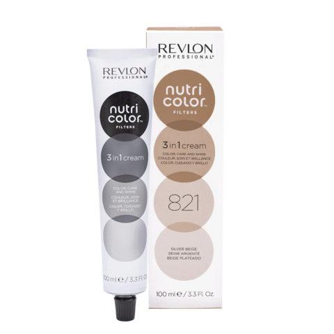 Revlon Nutri Color Creme 821 Beige Argento 100ml - maschera colore