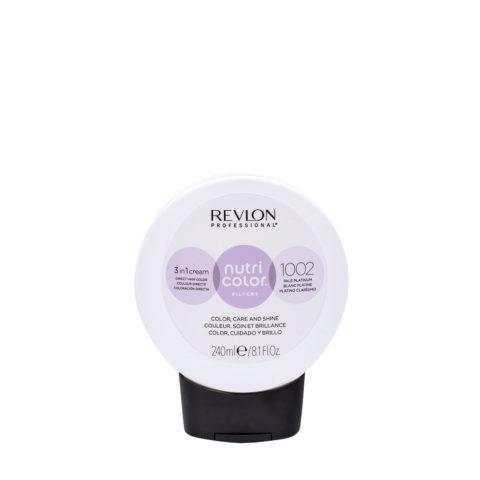 Revlon Nutri Color Creme 1002 Bianco platino 240ml - maschera colore