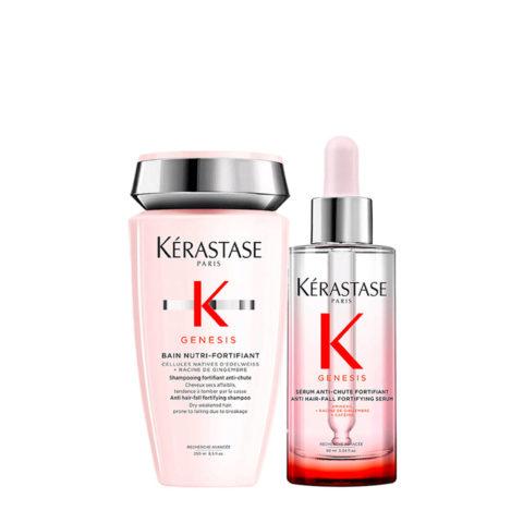 Kerastase Genesis Kit Champù Nutri 250ml + Suero 90ml Fortalecedor y Hidratante