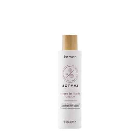 Kemon Actyva Colore Brillante Crema per capelli colorati 150ml