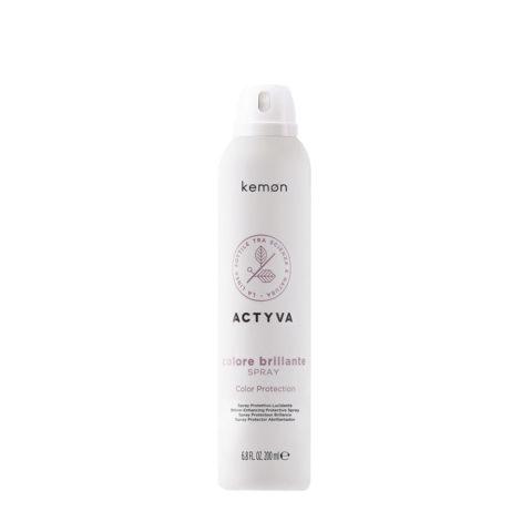 Kemon Actyva Colore Brillante Spray per Capelli colorati 200ml