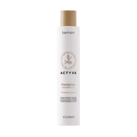 Kemon Actyva Disciplina Shampoo SN Velian 250ml  - shampoo per capelli crespi