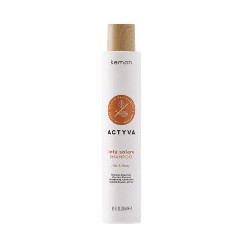 Kemon Actyva Linfa Solare Shampoo Corpo e Capelli 250ml