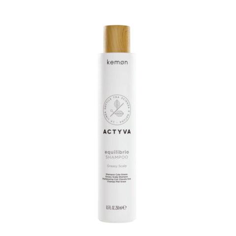 Kemon Actyva Equilibrio Shampoo per Cute Grassa 250ml