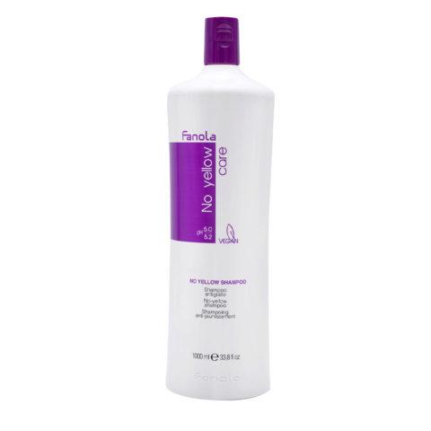 Fanola Shampoo Antigiallo per Capelli Biondi 1000ml