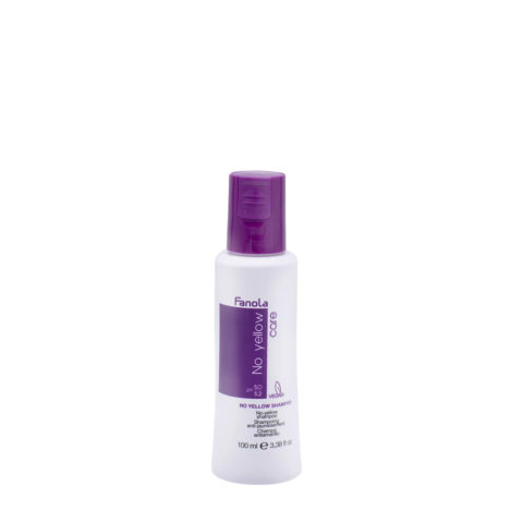 Fanola Shampoo Antigiallo per Capelli Biondi 100ml