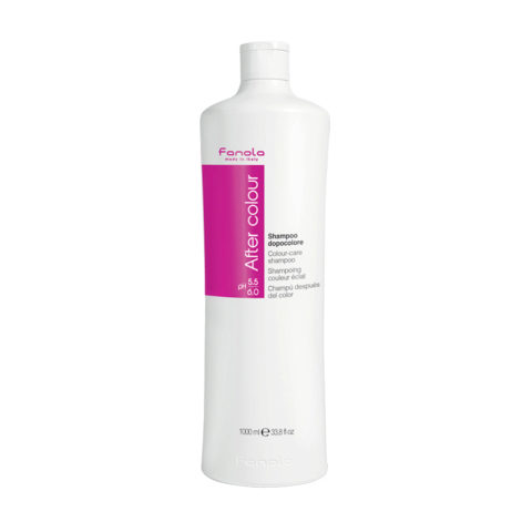 Fanola After Colour Shampoo Dopocolore per Capelli Colorati 1000ml