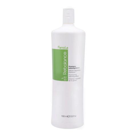 Fanola Rebalance Shampoo Antigrasso per cute grassa 1000ml