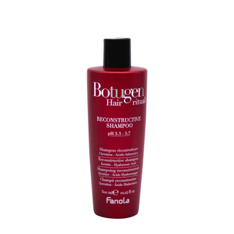 Fanola Botolife Shampoo Ristrutturante Capelli Danneggiati 300ml