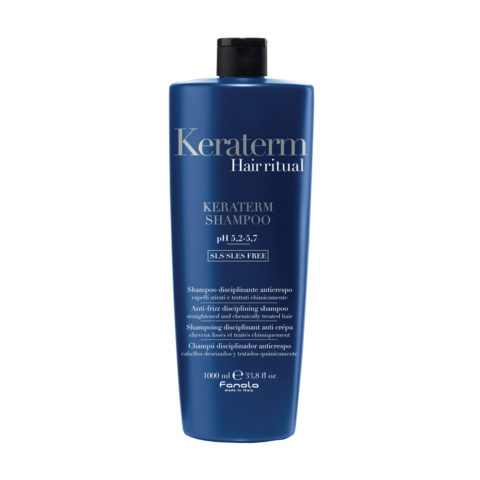 Fanola Keraterm Shampoo Anticrespo 1000ml