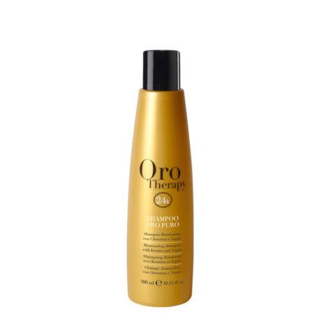 Fanola Oro Therapy Oro Puro Shampoo per tutti i tipi di Capelli 300ml