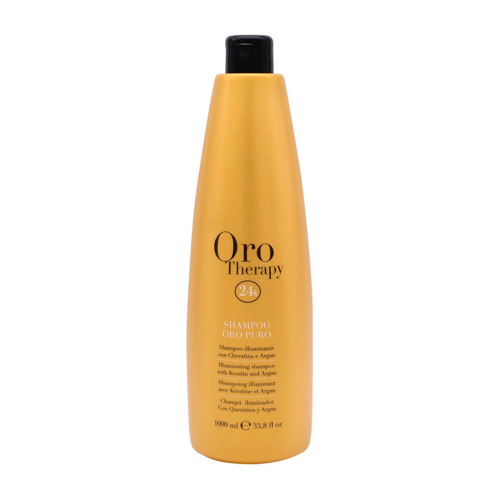 Fanola Oro Therapy Oro Puro Shampoo per tutti i tipi di Capelli 1000ml