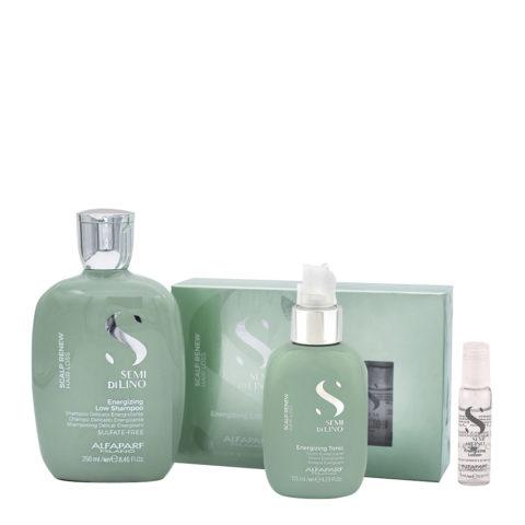 Alfaparf Semi di Lino Rituale Anticaduta Shampoo 250ml Lozione 125ml Fiale 12x10ml