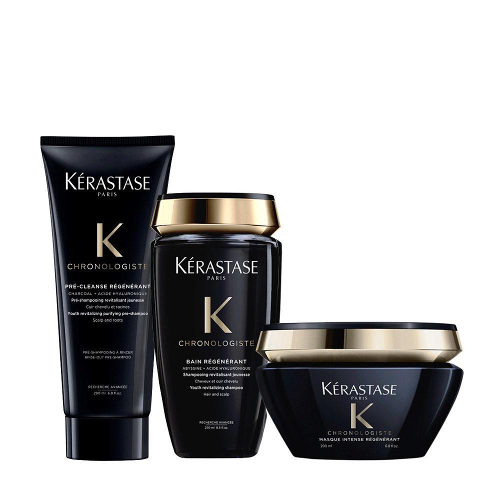 Kerastase Chronologiste Pre Shampoo 200ml Shampoo 250ml Maschera 200ml Rigeneranti