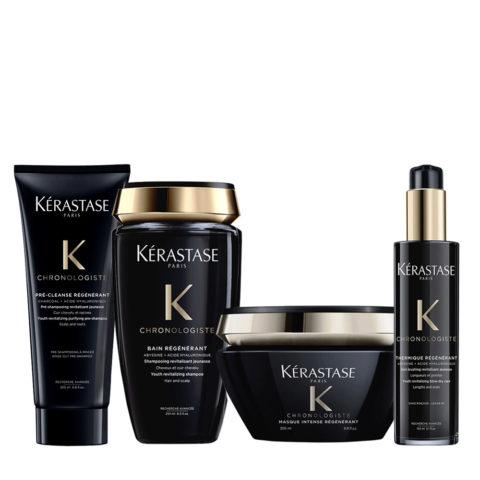 Kerastase Chronologiste Pre Shampoo 200ml Shampoo 250ml Maschera 200ml Crema 150ml
