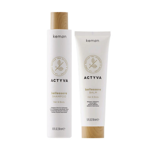 Kemon Actyva Bellessere Doccia Shampoo 250ml Balsamo 150ml