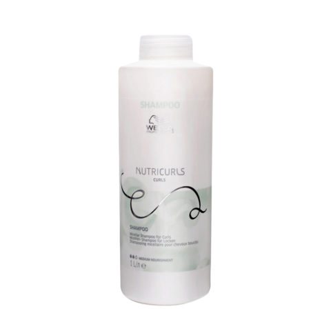 Wella Nutricurls Curls Shampoo per Capelli Ricci 1000ml